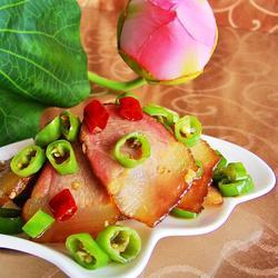 小炒湖南腊肉的做法[图]