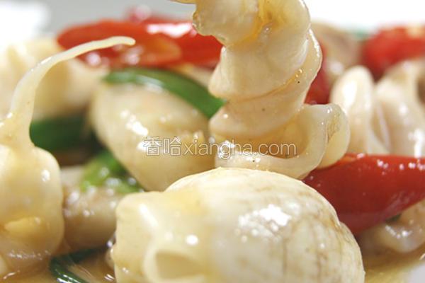 姜葱焗鱼泡