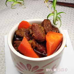 番茄胡萝卜炖牛腩的做法[图]