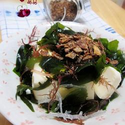 海藻豆腐色拉的做法[图]