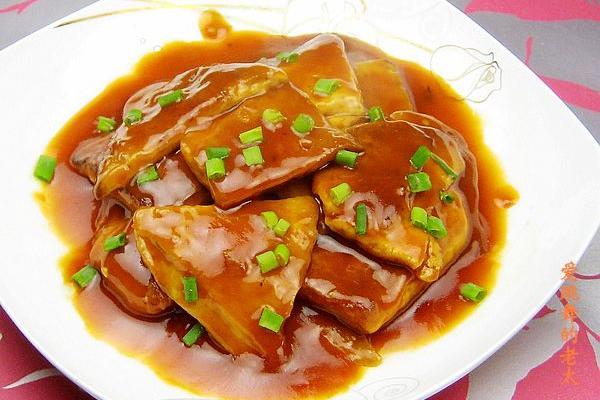 茄汁豆腐干