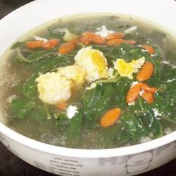 枸杞叶滚咸蛋汤的做法[图]