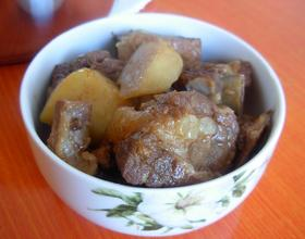 高压锅土豆炖排骨
