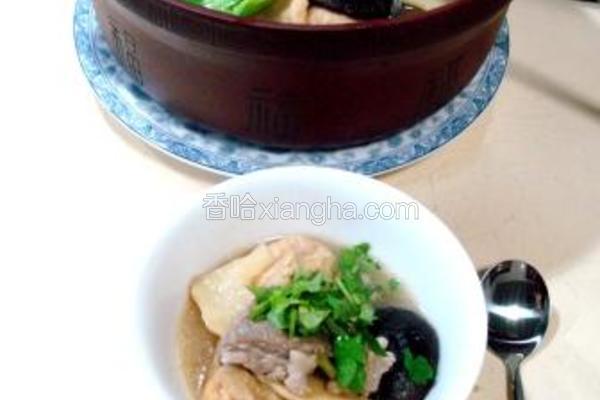 砂锅羊汤什锦