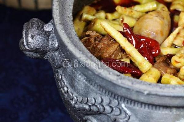 川式笋子牛腩煲