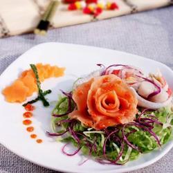 三文鱼沙拉的做法[图]