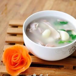 大蒜猪肚汤的做法[图]