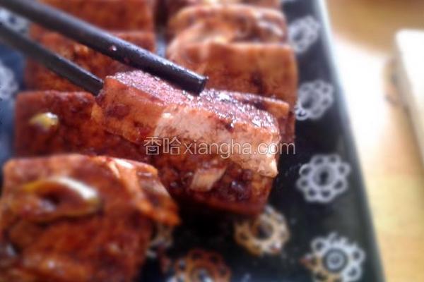 韩式风味煎豆腐