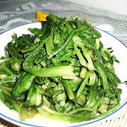 素炒油麦菜的做法[图]