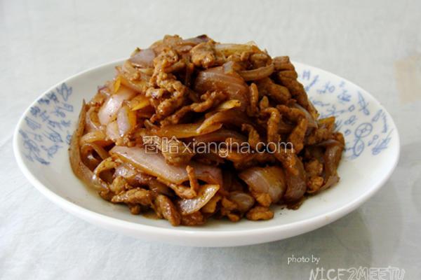 洋葱炒牛肉丝