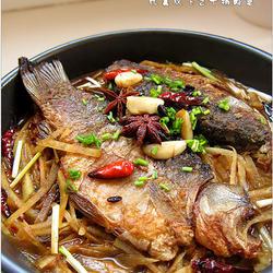 干锅鲫鱼的做法[图]