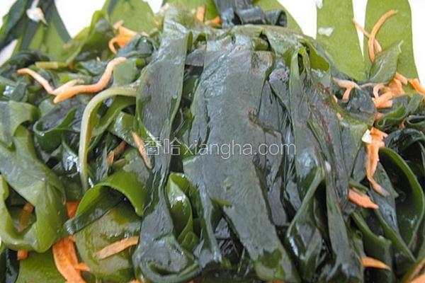 凉拌海芽菜