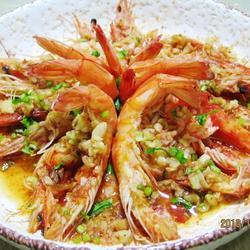 蒜蓉开片虾的做法[图]