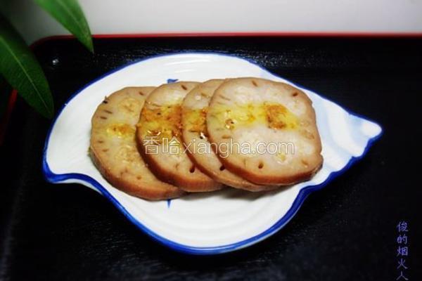 蜜汁桂花糯米藕