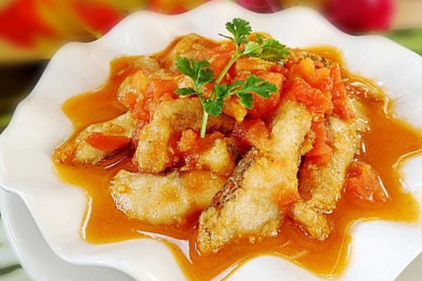 酸甜鲈鱼片