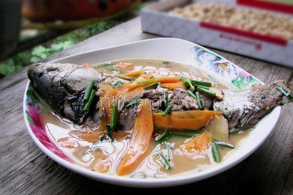 胡萝卜焖鲫鱼