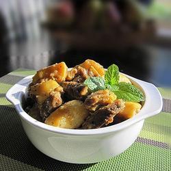 咖喱牛腩焖土豆的做法[图]
