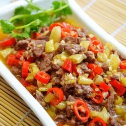 小炒黃牛肉的做法[圖]