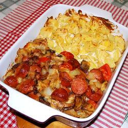 烤火腿肠和土豆的做法[图]