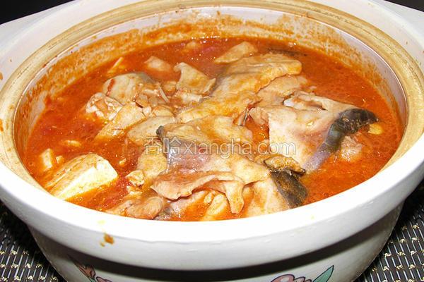 蕃茄豆花鱼
