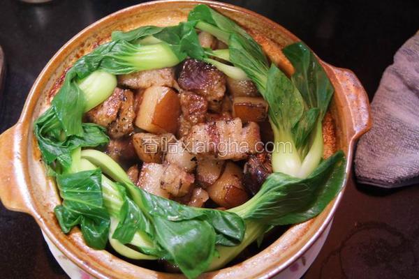 茶香东坡肉