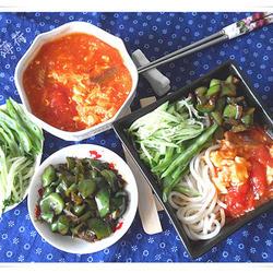 西红柿打卤面的做法[图]