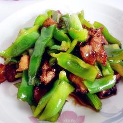 五花肉豆豉炒青椒的做法[圖]