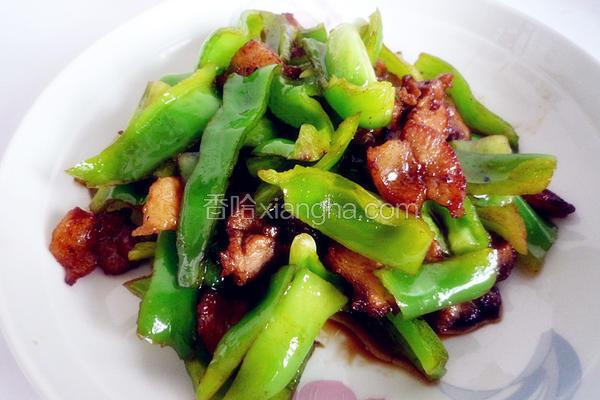 五花肉豆豉炒青椒