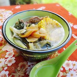 菜干罗汉果汤的做法[图]