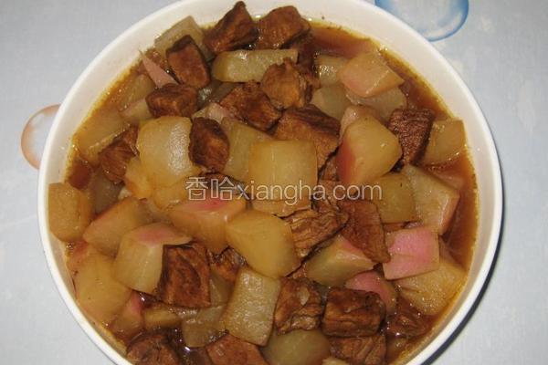 大萝卜炖牛肉