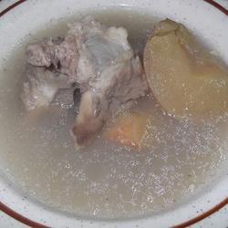 南北杏川贝苹果汤的做法[图]