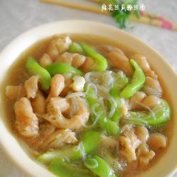 麻花丝瓜粉丝素汤的做法[图]