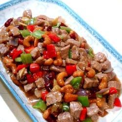 腰果炒牛肉的做法[图]