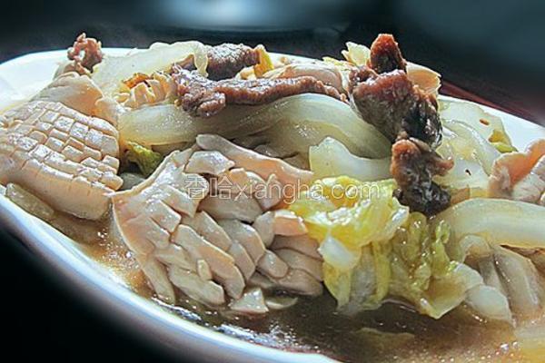 神仙豆腐焖大白菜