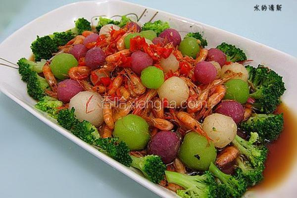 白玉翡翠虾