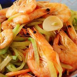 萝卜丝炒小虾的做法[图]