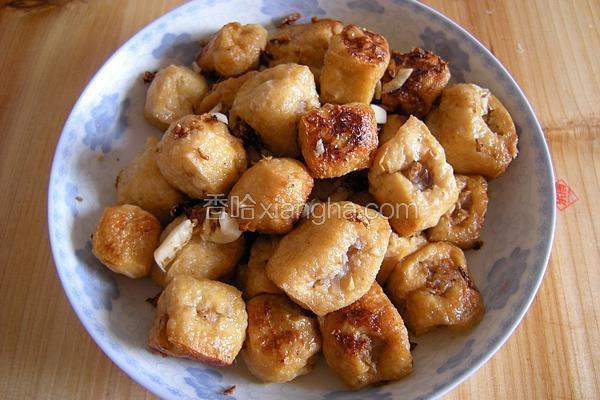 肉酿豆腐泡