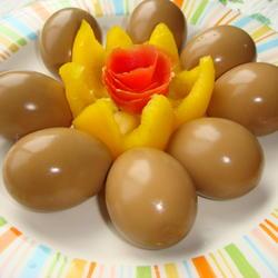 甘香卤鸡蛋的做法[图]