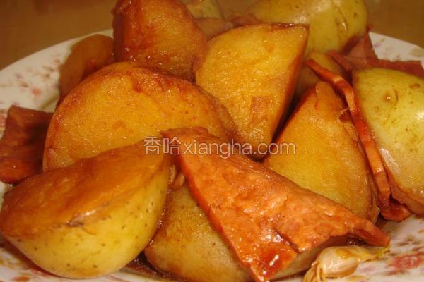 培根大蒜焖土豆