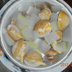 蛤蜊炖冬瓜的做法[图]