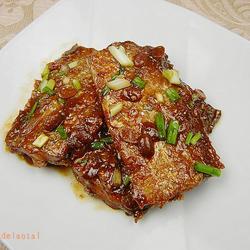 豆瓣醬燒帶魚的做法[圖]