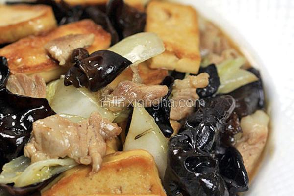 家常白菜豆腐