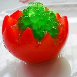 苹果鱼子番茄盅的做法[图]