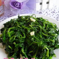 蒜香豌豆苗的做法[图]