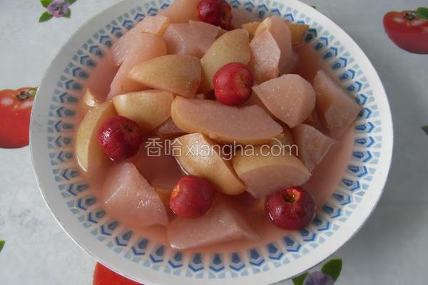 红果酥梨羹