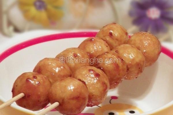 鸡丸葫芦串
