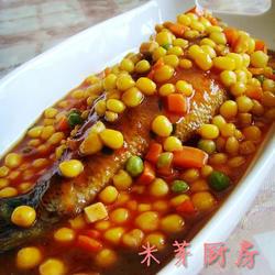 金玉满堂烩鲈鱼的做法[图]
