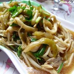 榨菜鸡丝拌金针菇的做法[图]