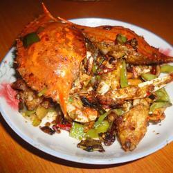 麻辣梭子蟹的做法[图]