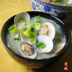 黄瓜豆瓣蛤蜊汤的做法[图]